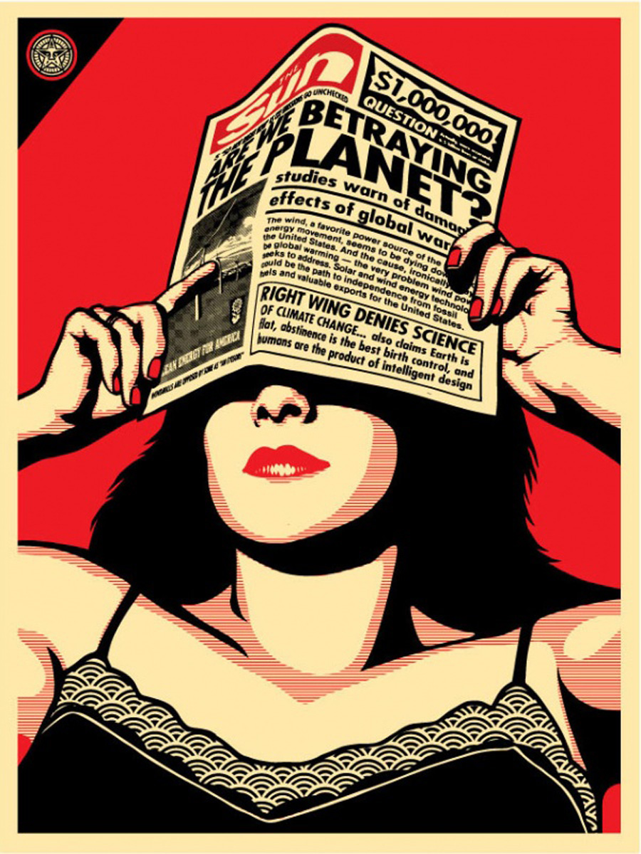 Street artist Shepard Fairey is set to launch a new limited edition ...