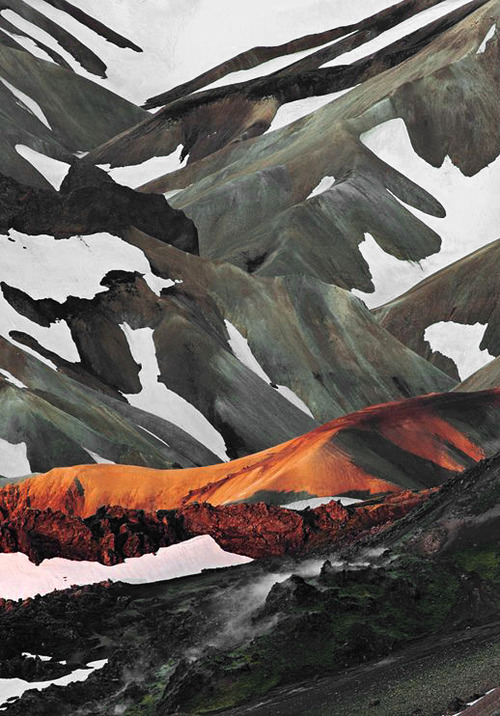 Mountain Camo Landscape