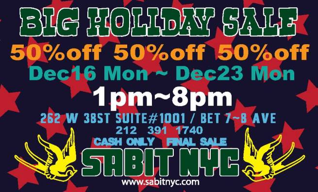 BIG HOLIDAY Sale