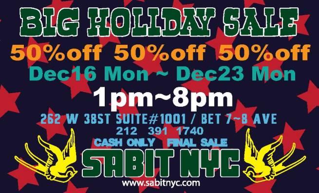 BIG HOLIDAY Sale